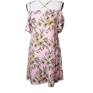 LOVE @ FIRST SIGHT FLORAL Strappy  DRESS NWT